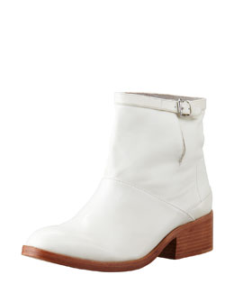 3.1 Phillip Lim Frankie Leather Ankle Boot, White
