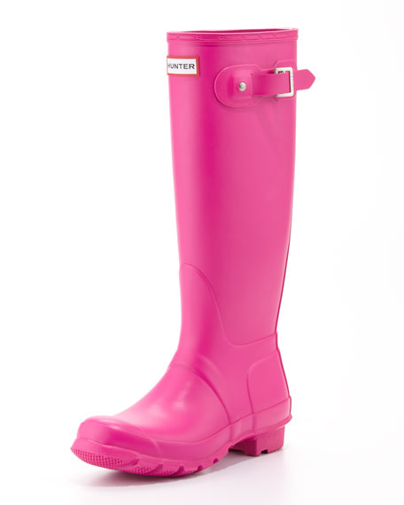Original Tall Welly Boot, Lipstick Pink