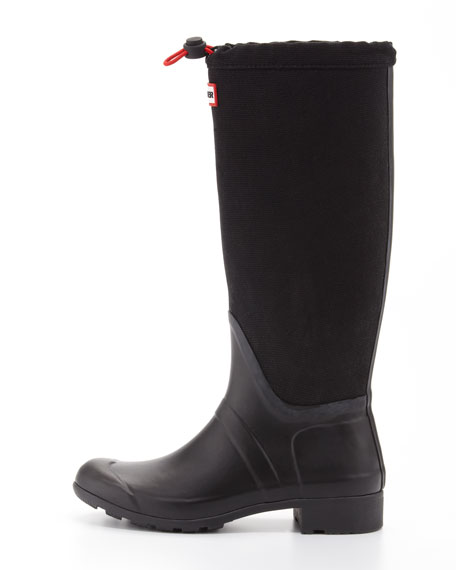 Original Tour Packable Welly Boot, Black