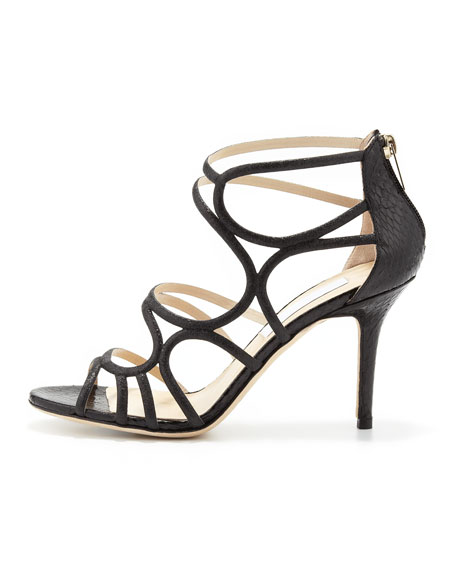 Summit Glittered Strappy Sandal