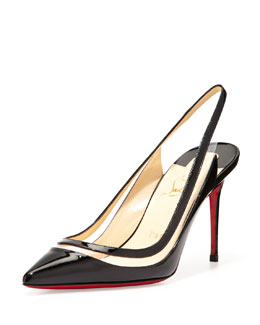Christian Louboutin Paulina Pointed-Toe Pump