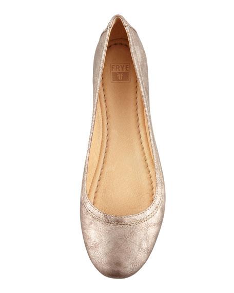 Carson Ballerina Flat, Bronze