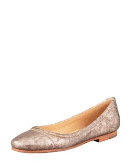 Frye Carson Ballerina Flat, Bronze
