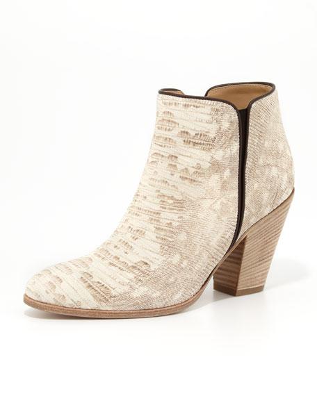 Giuseppe Zanotti Snake-Print Ankle Boot