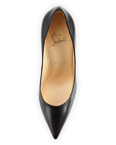 Decollete Pointed-Toe Pump, Black