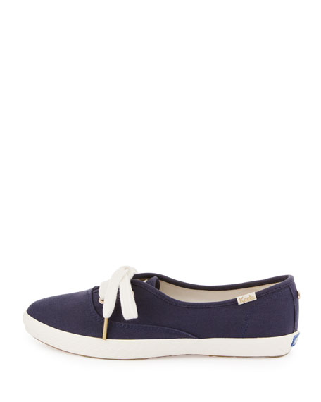 Keds canvas pointer sneaker, navy