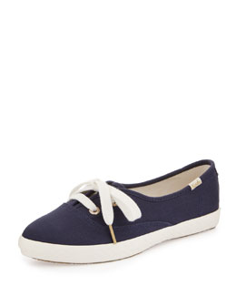 kate spade new york Keds canvas pointer sneaker, navy