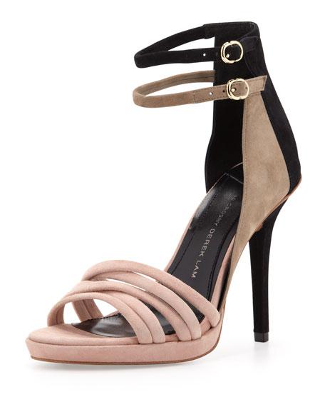 Jules Ankle-Strap d'Orsay Sandal, Blush