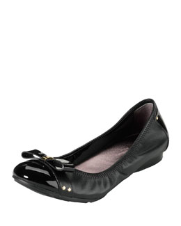 Cole Haan Air Monica Leather Ballet Flat, Black