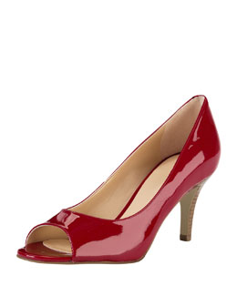 Cole Haan Air Lainey Patent Pump, Red