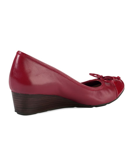 Air Tali Laced Wedge, Red