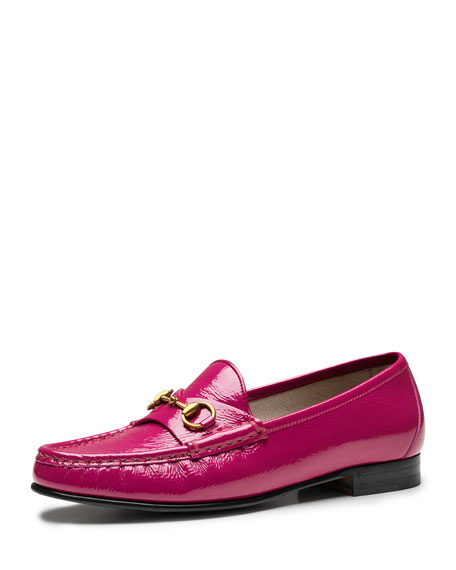 60th Anniversary Patent Loafer, Bright Pink