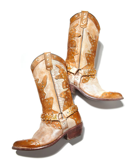 Rubic Studded Western Boot
