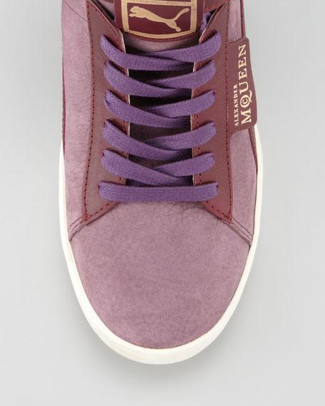 Joustesse Mid-Wedge Sneaker, Dark Gray