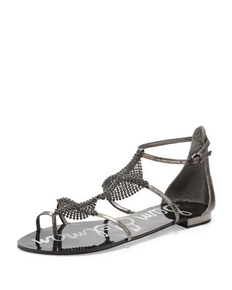 Tyra Crystal-Vamp Sandal