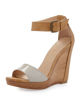 Splendid Berlin Ankle-Wrap Wedge