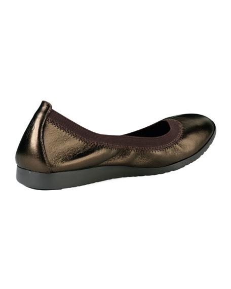 Gilmore Metallic Ballet Flat, Bronze