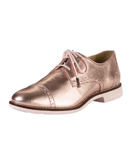 Cole Haan Gramercy Metallic Oxford, Rose Gold