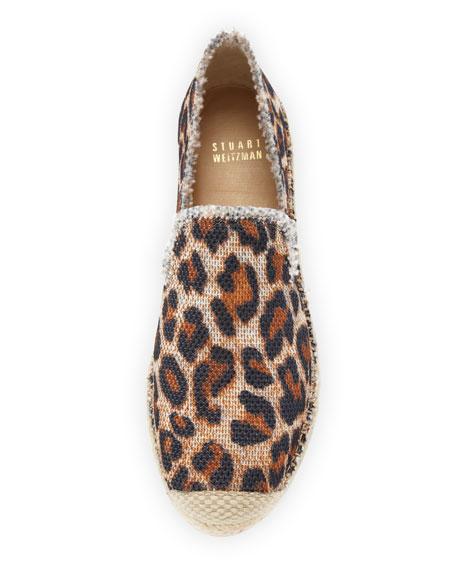 Biarritz Espadrille Loafer, Jaguar-Print