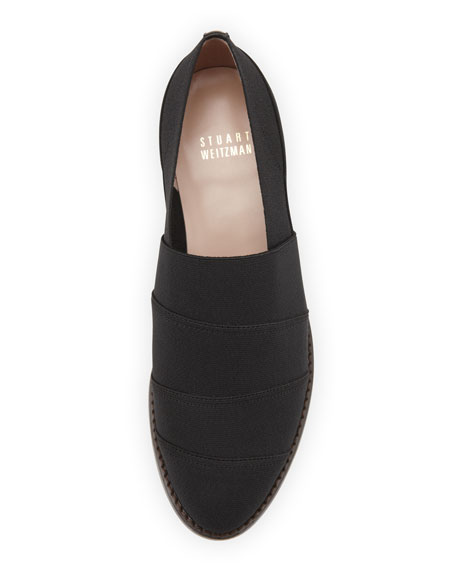 Elastica Stretch Loafer, Black