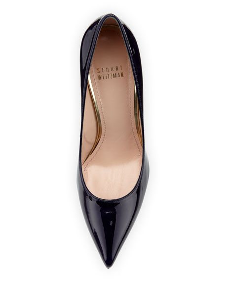 Nouveau Patent Point-Toe Pump, Ink