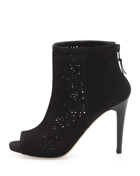 Inandout Peep-Toe Bootie, Black