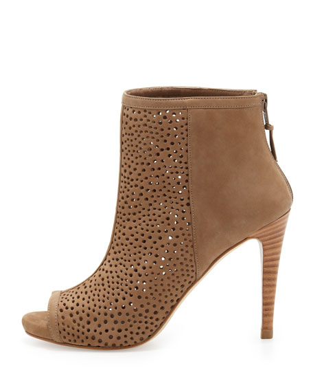 Stuart Weitzman Leather Perforated Booties really cheap pAXJH