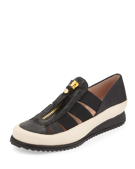 Getaway Strappy Elastic Sneaker, Black