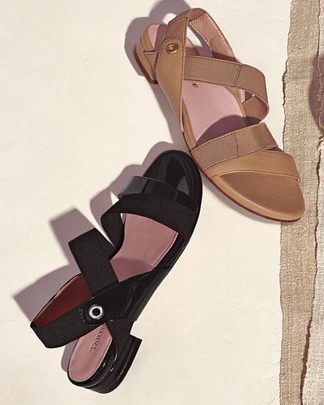 Iyana Stretch Sandal, Camel