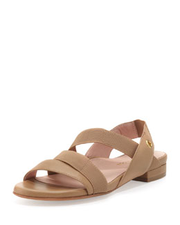 Taryn Rose Iyana Stretch Sandal, Camel