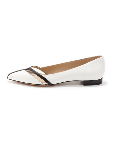 Jodi Pointed-Toe Flat