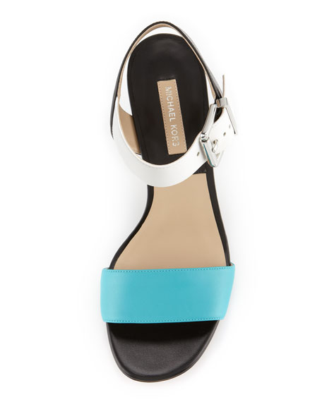 Lorah Colorblock City Sandal
