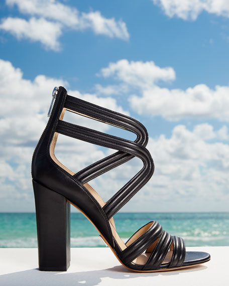 Preston Strappy Leather Sandal