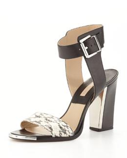 Michael Kors  Carson Colorblock Sandal