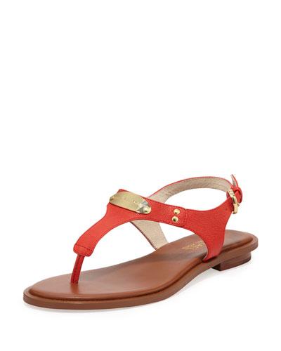 MICHAEL Michael Kors  Plate Thong Sandal