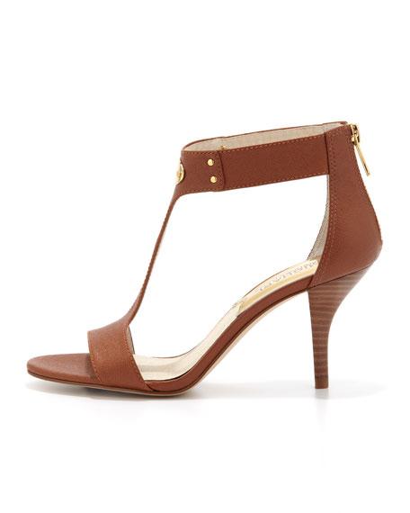 Plate T-Strap Sandal