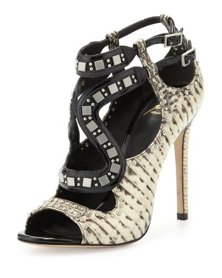 Lavela Studded Snake Sandal