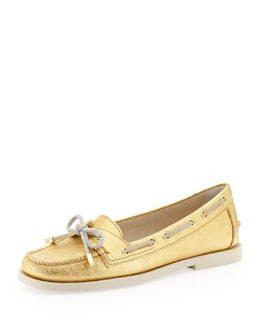 MICHAEL Michael Kors  Blair Metallic Moccasin