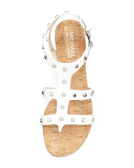 Jolie Studded Wedge Sandal