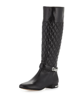 MICHAEL Michael Kors  Ramsey Quilted Leather Boot