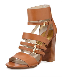 MICHAEL Michael Kors  Winston Strappy Leather Sandal