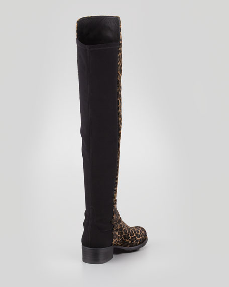 Reserve Wide Calf Hair Over-the-Knee Boot