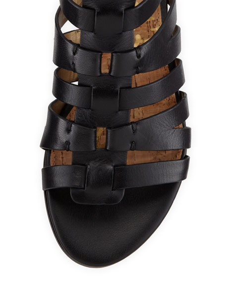 Beck Leather Gladiator Sandal
