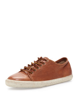 Frye Mindy Low-Top Leather Sneaker