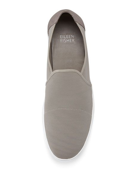 Mime Mesh Slip-On Loafer, Quartz