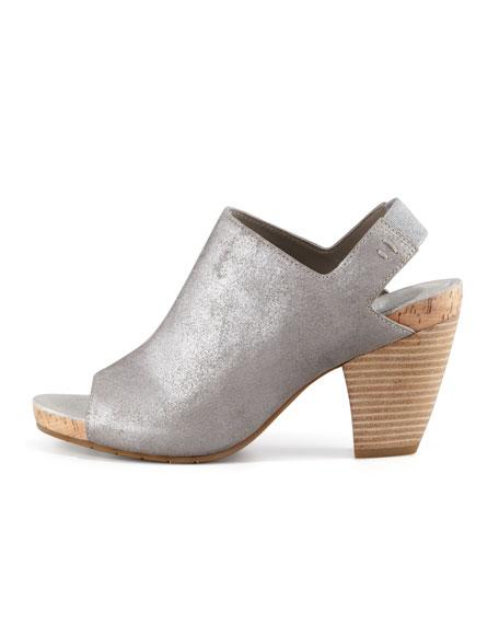 Cone Slingback Slide Sandal, Palladium