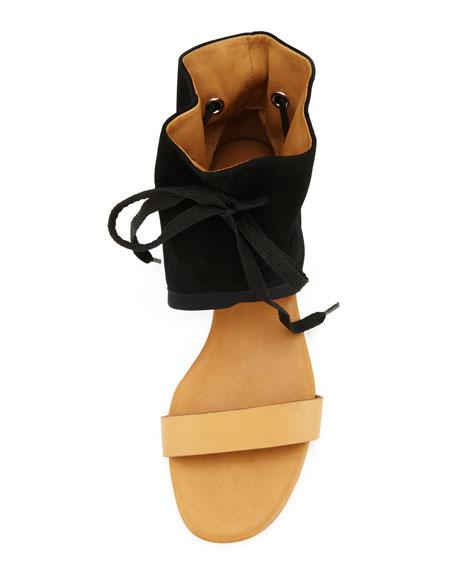 Ankle Cuff Flat Sandal