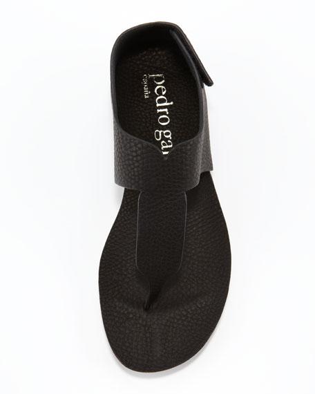 Julia Flat Thong Sandal, Black