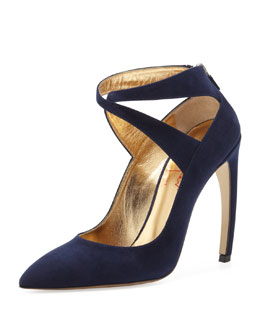 Walter Steiger Suede X-Cross Midnight/Navy