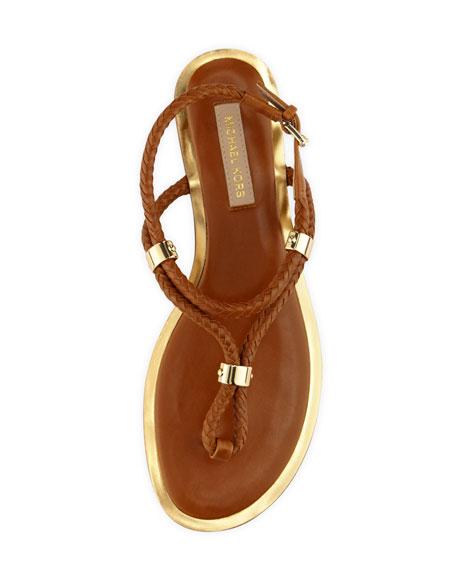 Hartley Braided Flat Sandal
